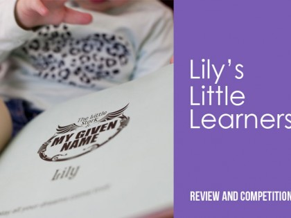 Lily's Little Learners book review and competition