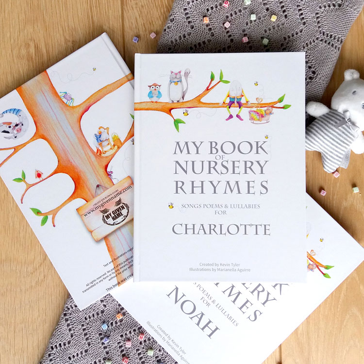 Nursery Rhyme Book Personalised