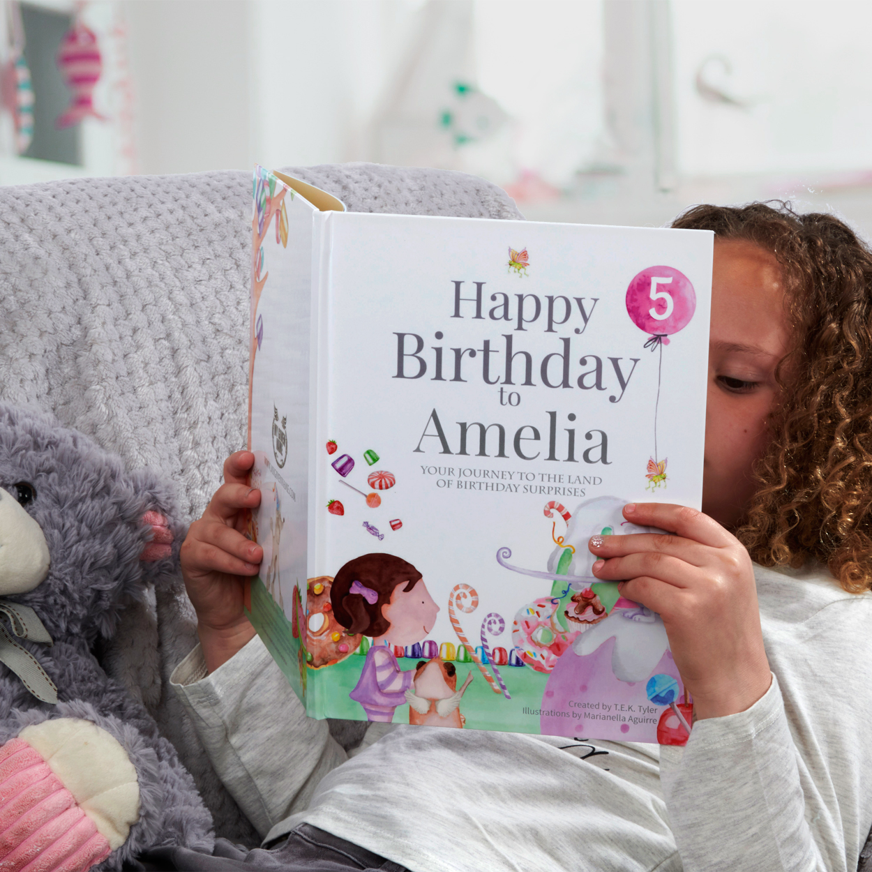 Birthday Book Personalised