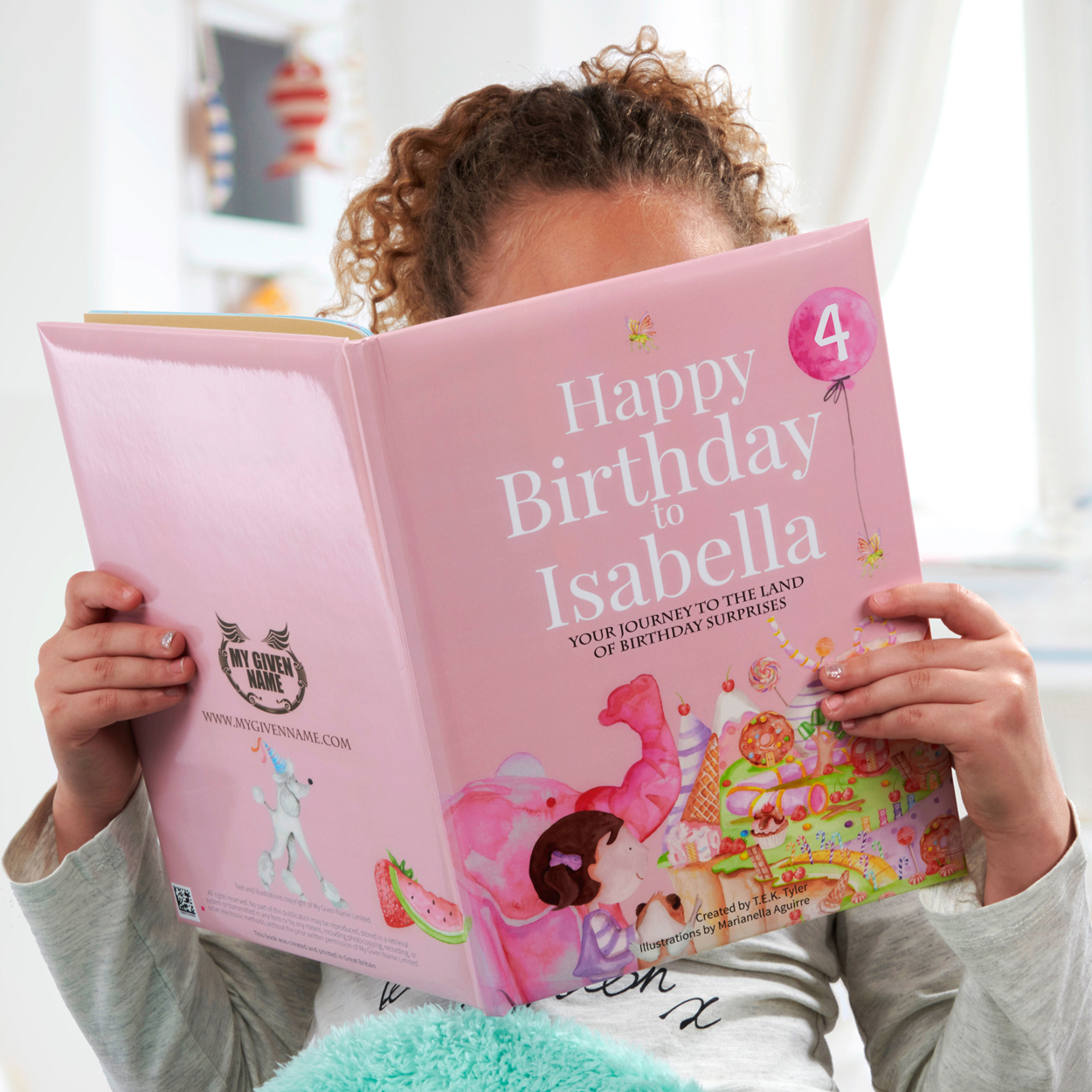 Birthday Book Girls