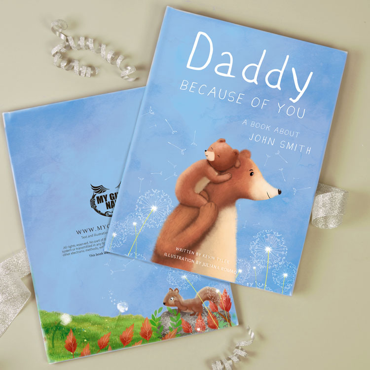 Our Daddy Book is out now!