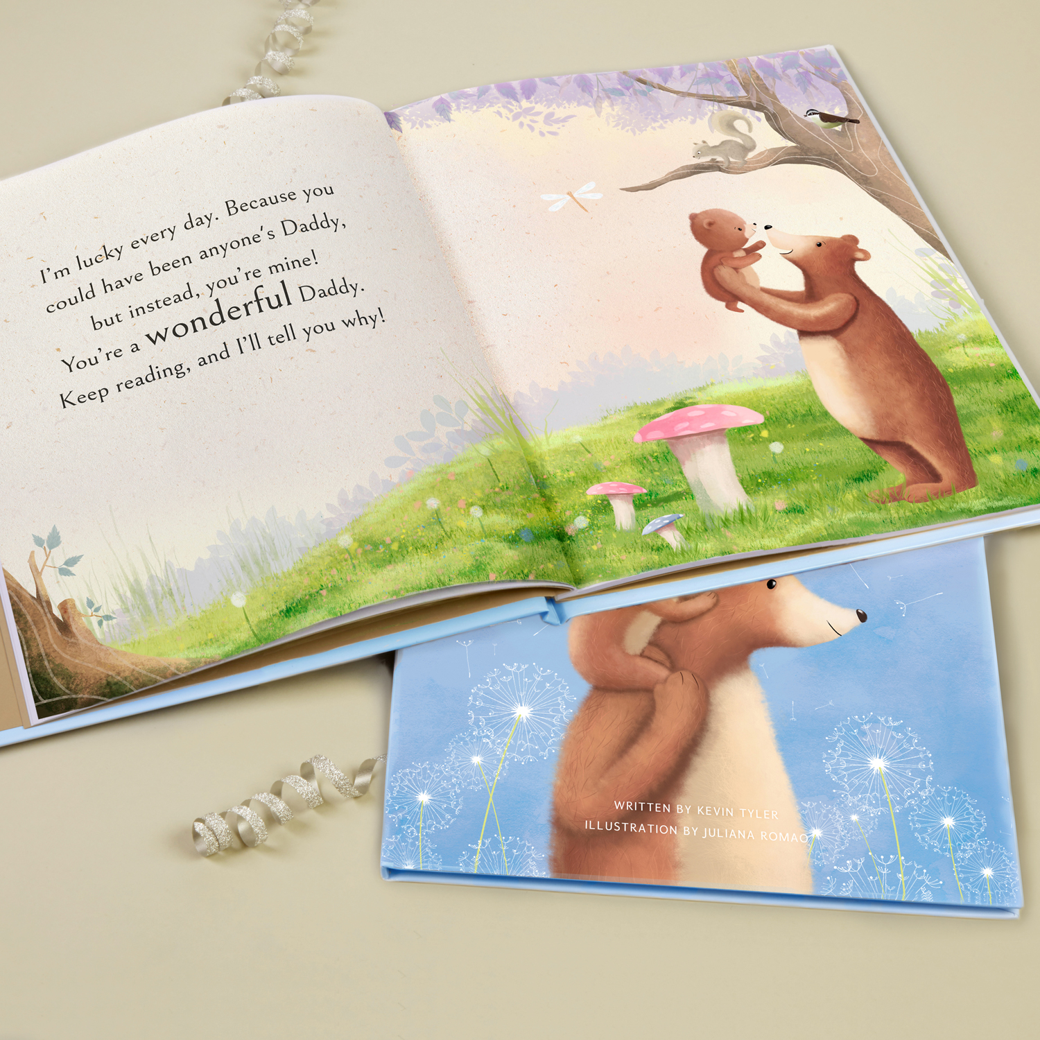Personalise the Book with Father's Character Traits